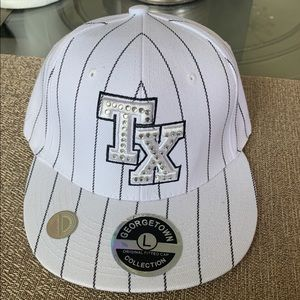 Texas White George Town Collectable Ball Cap